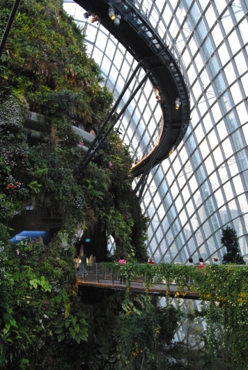 Cloud Forest, Garden By The Bay, Singapura